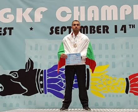 Пламен Мошеков - отново световен шампион