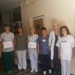 Троянските здравни специалисти протестираха в подкрепа на Мая Илиева