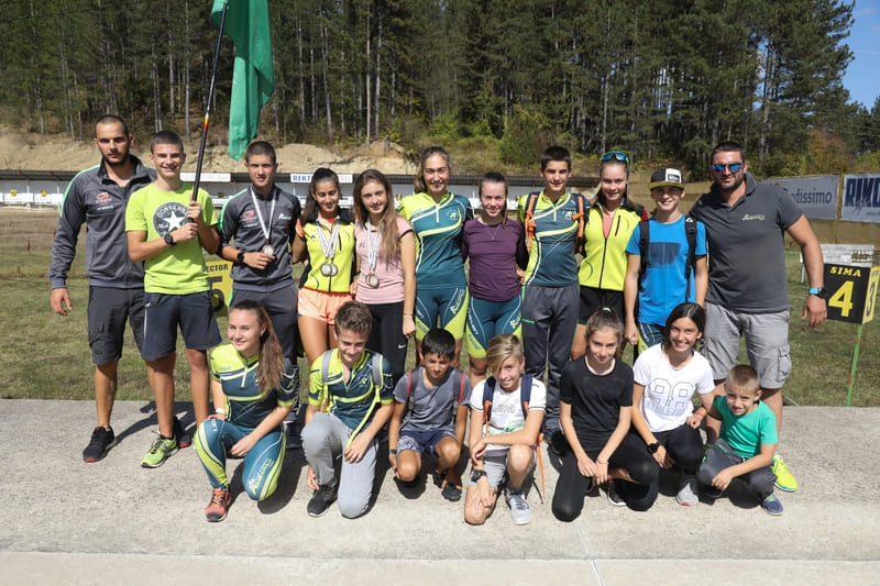Двойна победа за биатлонистките Лора Христова и Вяра Чолакова