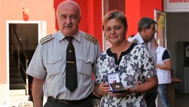 Photo of Милкана Христова със специален плакет