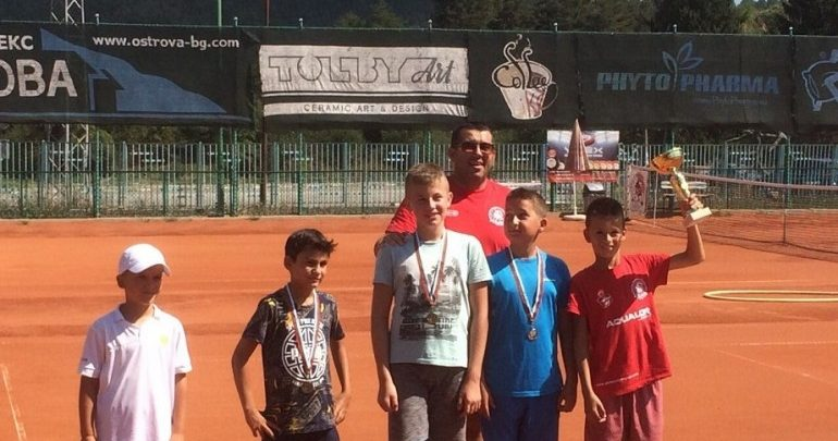 Мартин Топалов спечели в в регионален турнир по тенис